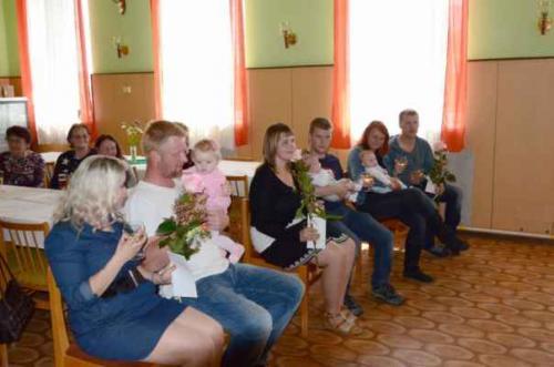 Vítání nových občánků v obci Sopřeči dne 18.5.2019
