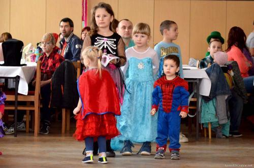 Dětský maškarní ples Sopřeč 2.3.2019