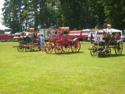 Účast SDH Sopřeč naoslavách 120let hasičů vÚjezdě 1